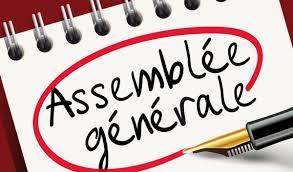 Assemblée Générale Ordinaire du club le 9 octobre 2021
