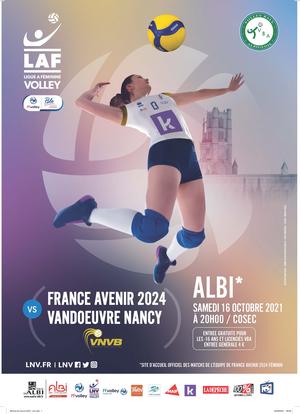 France Avenir 2024 – Premier match à domicile le 16 octobre 2021