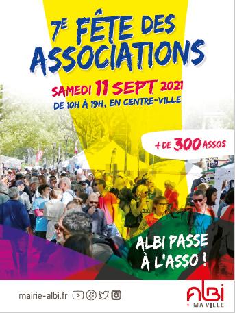 Fête des assos d'Albi le 11 septembre 2021